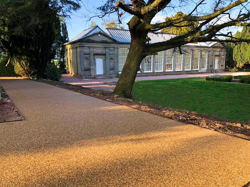 Ingestre Hall Resin Pathway