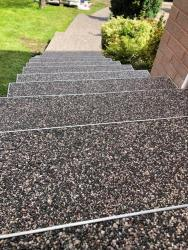 Resin Driveway and Steps - Dronfield, Derbyshire