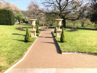Period Building Resin Pathway